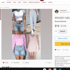 Brandy Melville Giveaway entry!